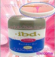 Super! Made in 2014!! Strong IBD PINK UV Builder Gel Nail Art Tips 56 g / 2 oz  + Gift