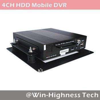 4ch Mobile DVR, Vehicle DVR, H.264, Motion Detection, D1 resolution, SATA 2.5'' hard disk 1000GB