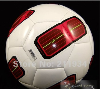 free shipping  size5 official black soccer ball & football, champions football, factory direct sale