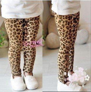 Factory outlet ! 2012 New Spring & Autumn girls leggings children pants leopard kids pants ,5 pieces/lot