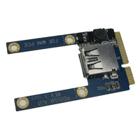 Mini PCI Express SuperSpeed 5Gbps USB 3.0 Card Adapter