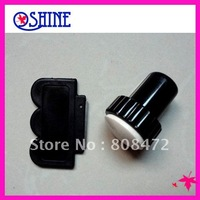 DIY Nail Art 2 Side Stamping Stamp Tools Scraping Knife Set nail stamp kit High Quality Silica gel