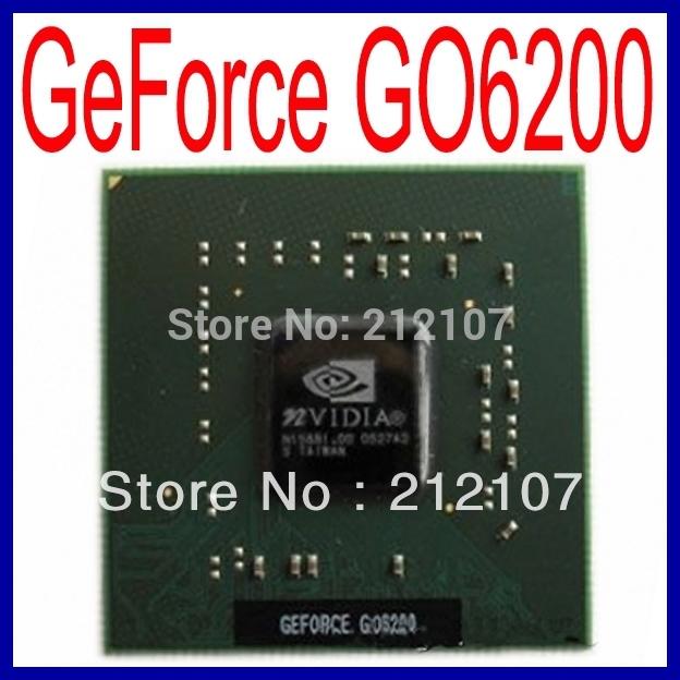 NVIDIA geforce go6200 графических процессоров -