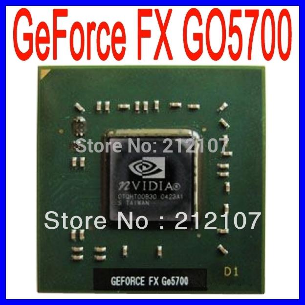 NVIDIA GeForce FX GO5700 Graphic Processor of BGA Chipset - NEW(China (Mainland))