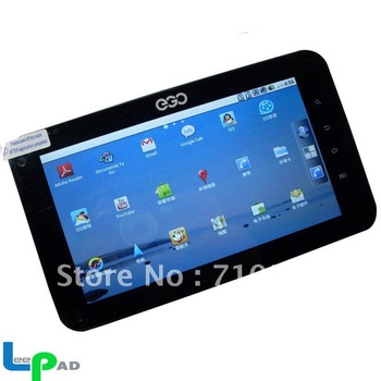 7''MSM7627 Tablet PC android2.2+800MHZ+Capacitive Touch+3G Built in+WIFI+Cameras+SIMs+Buletooth+GPS+G-Sensor+Phone.Lowest Price!