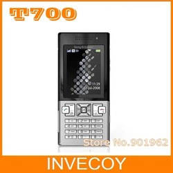 T700 Unlocked Original Sony Ericsson T700 Cell Phone GSM Quad band 3G Bluetooth Email FM Mp3 freeshipping(China (Mainland))