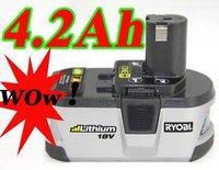 Ryobi 18V 4200mAh Lithium Battery ONE+ for power tool high capacity