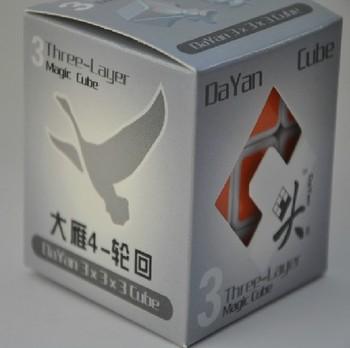 Free shipping of  Dayan 4 LunHui 3x3x3 Stickerless Speed Cube