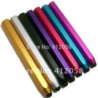 10cm Aluminum Stylus Pen touch Pen For iphone 3G 4G iPad 10colors free Shipping Wholesale 1000pcs