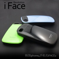 New Editon iFace 2 Revolution Stylish Urethane Bumper Case for i Phone 4 4S