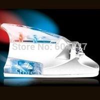 Retial 1pcs/lot car Decorative wind power LED light,Shark fin car wind light,car wind-blow light car styling