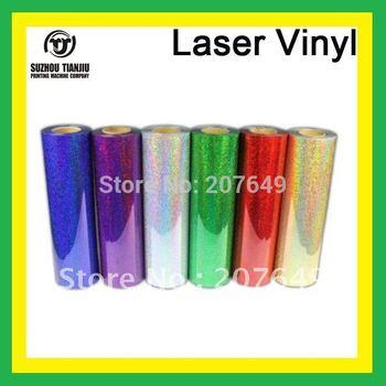 TJ High-Quality Laser heat transfer vinyl,laser vinyl,t-shirts transfer vinyl(width=0.5meter) 1 meter