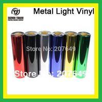 TJ hight-quality Metal light heat transfer vinyl,metal light vinyl(1Meter=0.5Meter) 1 meter