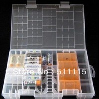 AAA C D 9V Battery Hard Rack Case Storage Box Holder