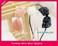 Wholesale freeshipping crystal beads with bow design headband hairband colors assorted 12pc/lot