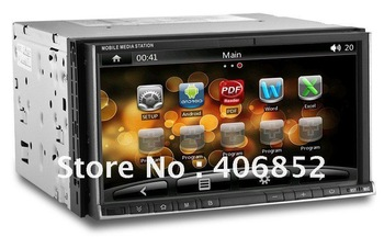 Universal double din Android 2.3.5 and Wince 6.0R3 car pc