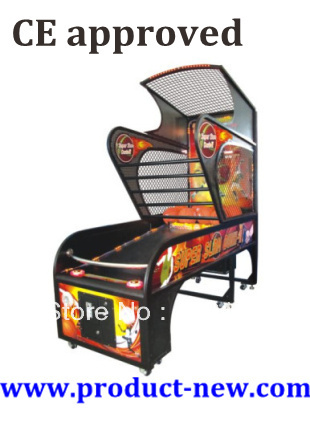 US$1750/piece,Basketball Machine Coin Operated Game Machine, Basketball Games(China (Mainland))