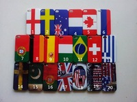 Free shipping,flag case for iphone4/4s