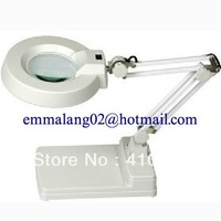 DHL free shipping!! 10 times, high definition optics lens, Desk type magnifier, Industrial electronics magnifying glass
