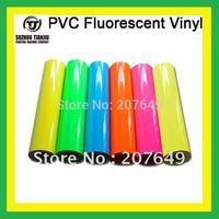TJ hight quality  Heat transfer vinyl,PVC fluorescent vinyl,pvc vinyl(width=0.5meter )1 meter