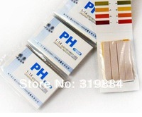 Free shipping  10 packs of 800 strips Full range 1-14 pH test paper ,