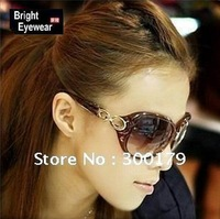 Fashion italy design popular women big size B008 gradient color 100% UV400 protection polarized sun-lens sunglasses
