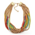Min Order Is $15(mixed order)!Multi-layer Color Necklace,Free Shipping  Wholesale