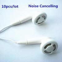 Free Shipping 10pcs/lot cheap mp3/mp4 earphones in individual ziploc bag