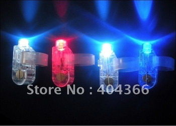 2000pcs Christmas Party Toys LED Finger Laser Bright Finger Ring Lights Novelty Kids Toys Olympic Games Fans Articles Bar Light