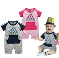 1pc baby romper, 2colors Baby bodysuit, Baby jumpsuit Wholesale  free shipping