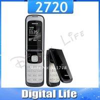 2720 Original Nokia 2720 Unlocked Cell Phone Bluetooth Jave One Year Warranty