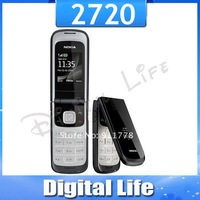 2720 Original Nokia 2720 Unlocked Cell Phone Bluetooth Jave One Year Warranty  Free Shipping
