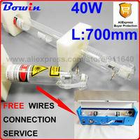 CO2 Laser Tube 40W 700mm Length 50mm Diameter For K40 CO2 Laser Machine