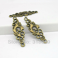 40pcs 12*36mm Antique Bronze Metal Alloy Charm Jewelry Connectors Fit Jewelry Making 0149