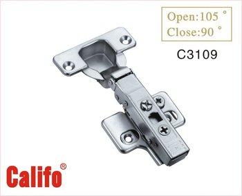 Adjustable hydraulic hinge for furniture hinge / for kitchen hinge C3109