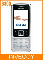 6300 original nokia bar cell phone 6300 2MP Camera bluetooth MP4 freeshipping