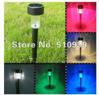 free shipping+10pcs/lot solar garden light, Garden decorations solar flower light,solar tulip light freeshipping! !