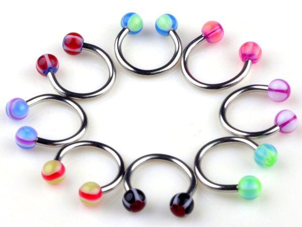 get cheap horseshoe lip rings aliexpress
