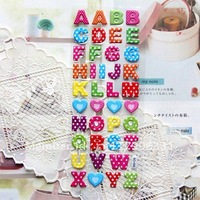 English alphabet Bubble Stickers Teaching Things Sponge posted Gift