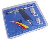 U-STAR GP-70 Multi-Purpose Precision Fixed Dual-Action Trigger Style Gravity Feed Airbrush