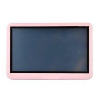 free shipping  2GB  4.3 Inch Touch Screen MP5/MP3 Player FM Pink