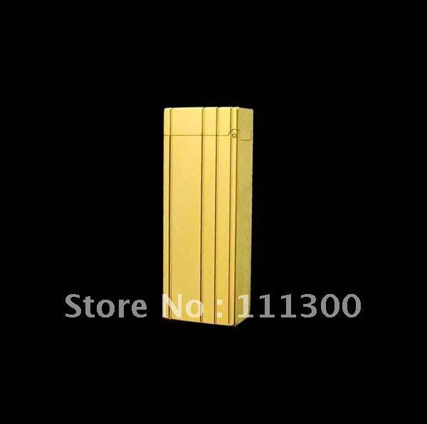 Wholesale - 2012 NEW HOT Designer Brand gold Lighter Men`s Lighters With Box #ert(China (Mainland))