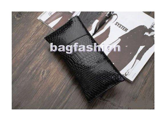 Вечерняя сумка Fashion Handbag skull clutch bag Crocodile Grain Punk Evening bag messenger wallet for women Cute girls 4173