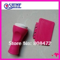 High Quality White Silica gel Nail Art Stamper & Scraper Polish Stamper Image Paint Stamp Scraper