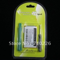 Mobile phone battery, 1600mAh Replacement internal battery pack for iphone3GS, with opener