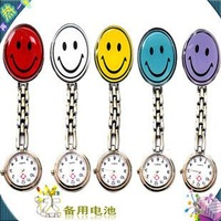 2012 new fahion  nurse Pocket watch Nurses Smiling faces watch good quality