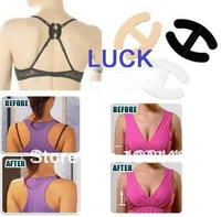 Free shipping  Bra Strap Clip Cleavage Control Strap perfect (3 pcs/pack)   4packs/lot  mixed style