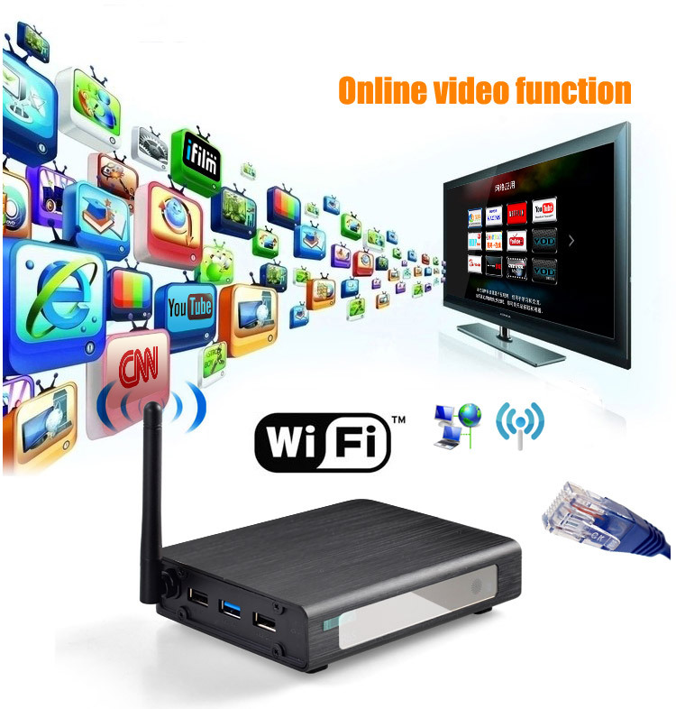 R6S Media Player 3D Wifi Network H.264 Blu-ray Full HD 1080p Video E-SATA/USB Media Player 013504 free shipping(China (Mainland))
