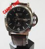 Free Shipper, Luxury Airforce Military Style Mens Automatic Mechanical Watch, Brown Color Leather Strap, Best Gift