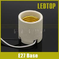 E27 Ceramic socket, E27 Holder, E27 LED Light Lamp Bulb socket Adapter Converter Holder